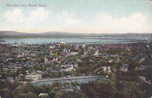 Montreal From Mount Royal, Montreal, Quebec, Canada, 1900-1910s