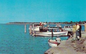 DUNKIRK, New York, 1940-60s; Harbor and Yacht Club on Lake Erie