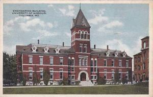 Missouri Columbia Engineering Building University Of Missouri 1927