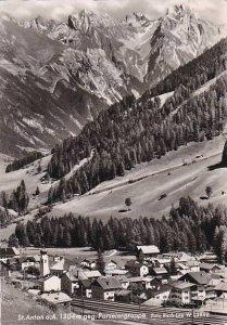 Austria St Anton gegen Parseiergruppe 1962 Real Photo