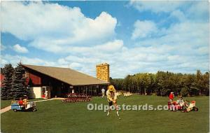 Old Vintage Golf Postcard Post Card Laurels Hotel & Country Club, Private Gol...