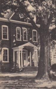 Guilford College, Archadle Hall, Men's Dormitory, GUILFORD COLLEGE, North Car...