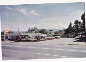 Exterior, Parkview Motel,  Kelowna,  B.C.,   Canada,  40-60s