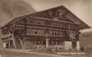 Switzerland Berghaus Chálet Bernois 02.83