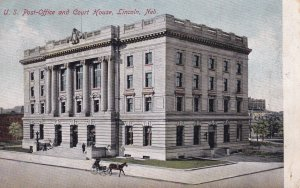 LINCOLN, Nebraska, 1900-1910's; U.S. Post Office And Court House