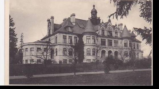 Washington Denny Hall University Of Washington Albertype