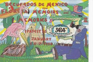International Postcard Fair & Exhibition IPAFEST-90 Coral Gables Florida 1989