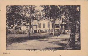 DAHOMEY . 1910s - 30s; COTONOU.-La Delegation