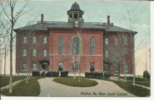 Pittsfield, Me., Maine Central Institute