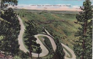 Colorado Denver Lariat Trail Up Lookout Mountain 1944