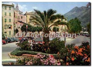 Postcard Moderne Menton (Alpes Maritimes) Colors and Light of France The Fren...