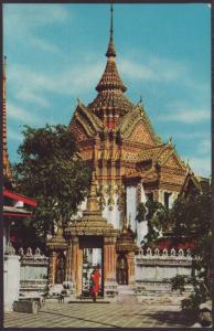 Wat Poh Temple,Bankok,Thailand Postcard BIN