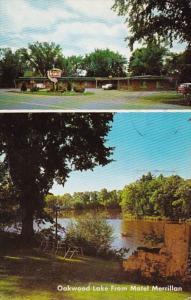 Wsconsin Merrillan Motel Merrillan On Oakwood Lake 1965