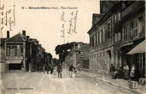CPA GRANDVILLIERS Rue d'Amiens (377147)