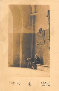 Austria Igls bei Innsbruck Church Interior Postcard