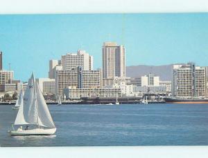 Pre-1980 PANORAMIC VIEW San Diego California CA AF0368