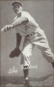 Baseball Player Vintage Exhibit Card A's - ALEX KELLNER