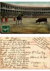 CPA Bullfighting - Suerte de Vara (776034)