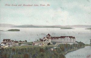 KINEO , Maine , 1900-10s ; Kineo House and Moosehead Lake