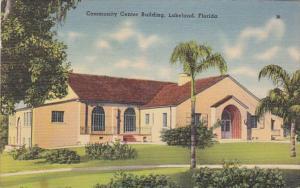Florida Lakeland Community Center Building 1941