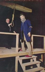 John Brown Being Hanged For Treason 2 December 1859 National Civil War Wax Mu...