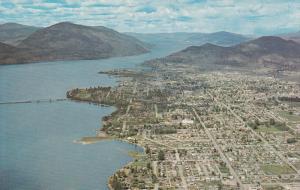 Aerial View of KELOWNA, British Columbia, CANADA,  PU-1967