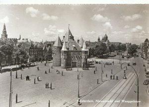 The Netherlands Postcard - Amsterdam - Nieuwmarkt Met Waag - Ref TZ2722