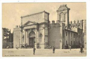 Porta Pia / Aurelian Wall,Rome,Italy 1900-10s