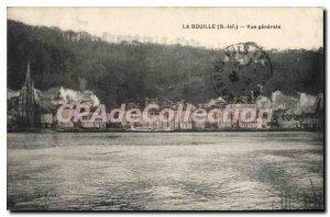Postcard Old La Bouille Vue Generale