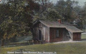 PHILADELPHIA, Pennsylvania, PU-1907; General Grant's Cabin, Fairmount Park