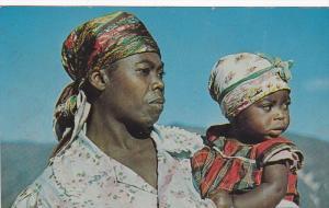 Mother & Child , FURCY , Haiti , PU-1961