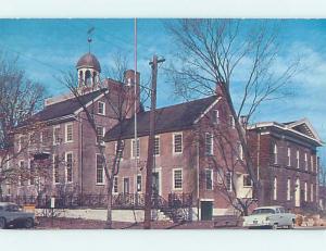 Pre-1980 COURTHOUSE SCENE New Castle Delaware DE AE9842