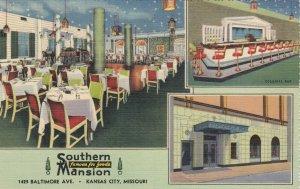 KANSAS CITY , Missouri , 30-40s ; Southern Mansion Restaurant