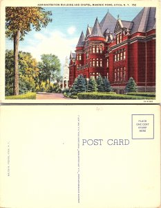 Administration Buildings and Chapel, Masonic Home, Utica, New York