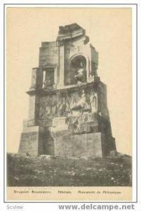 Athnes Monument de Philopappe, Greece, 00-10s