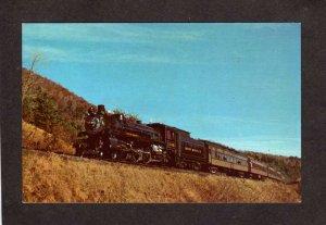 VT Green Mountain Railroad Train Engine Clarendon Vermont Rutland Bellows Falls