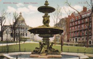 Massachusetts Boston The Brewer Fountain