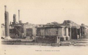 Timgad Fontaine De La Curee Antique Algeria Postcard