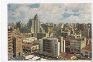 JOHANNESBURG, Skyline , South Africa, 1962 used Postcard