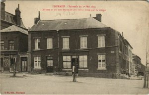 CPA FOURMIES Souvenir du 1er Mai 1891 (136604)