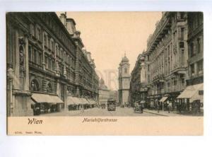 156031 AUSTRIA WIEN Mariahilferstrasse TRAM Vintage postcard