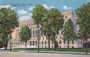 Sheboygan County Court House, Sheboygan, Wisconsin, PU-1949