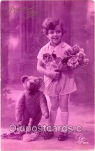 Teddy Bear Bears Postcard Postcards writing on back