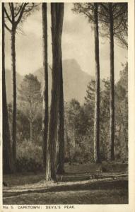 south africa, CAPE TOWN, Devil's Peak (1930s)