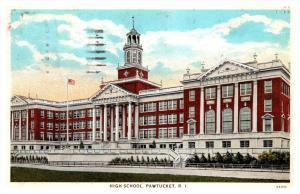 Rhode Island Pawtucket , High School