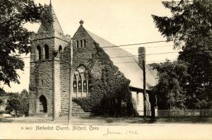CT - Milford.  Methodist Church
