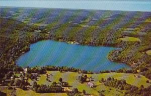 Aerial View Oquaga Lake Deposit New York