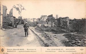 Macedonia Monastir surroundings after the bombardment war 1914-1918