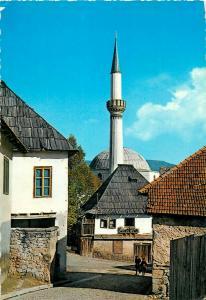 Jajce, Bosnia & Herzegovina - Western Balkans old town & mosque