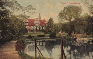 Vrams Gunnarstorp Axel Eliassons Skane Castle Swedish Postcard